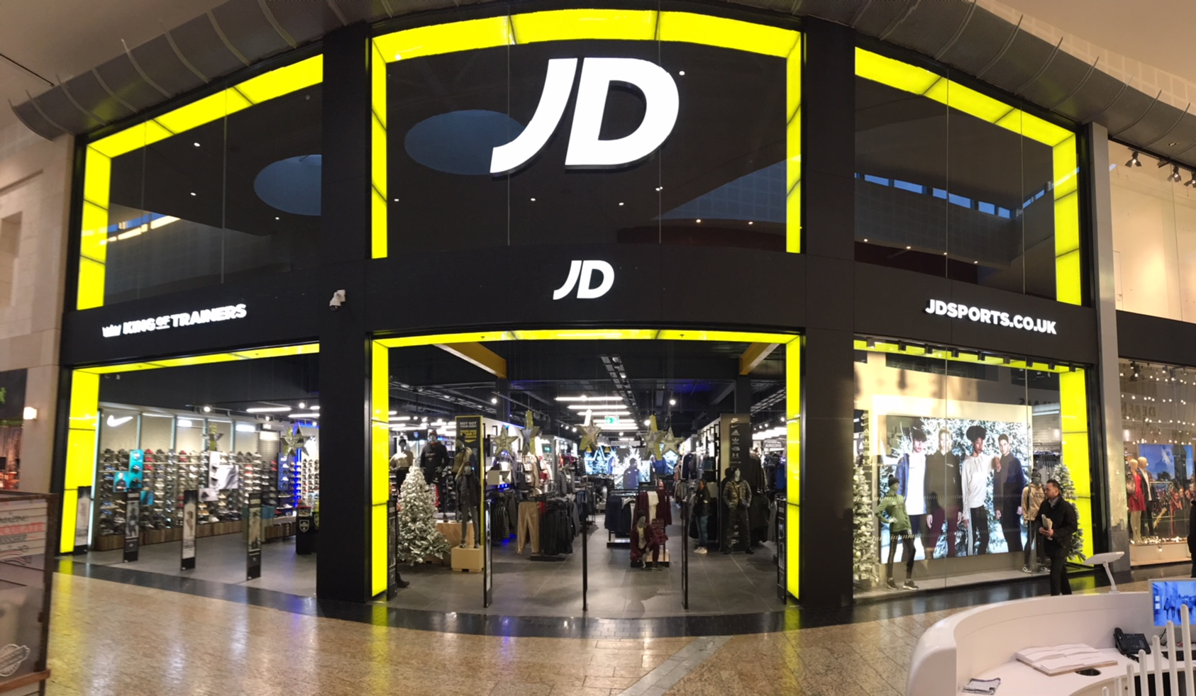 JD Sports, Sports & Leisure, Union Square, Aberdeen